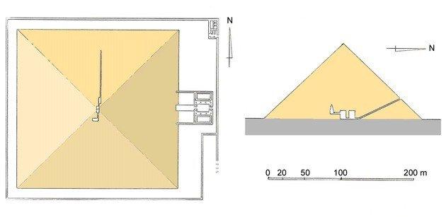 Pirámide roja interior