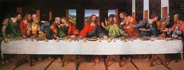 Copia de la última cena