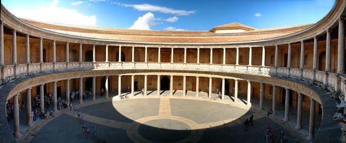 Palacio de Carlos V en Granada, de Pedro Machuca