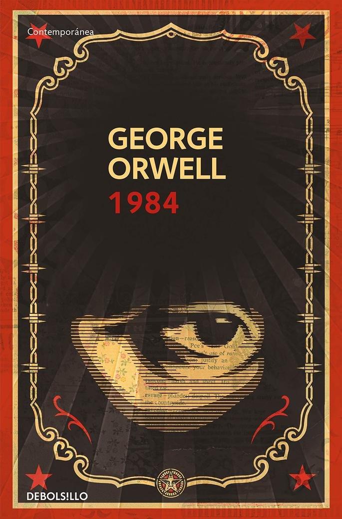 Portada del libro 1984