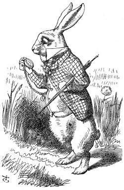 Conejo de Alicia John Tenniel