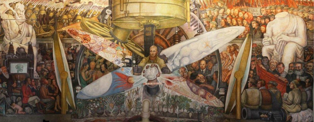 Significado Del Mural El Hombre Controlador Del Universo De Diego