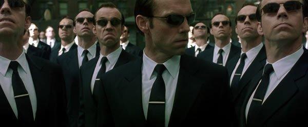 Personaje del Agente Smith.