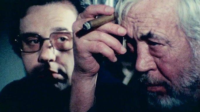Fotograma de la película Al otro lado del viento