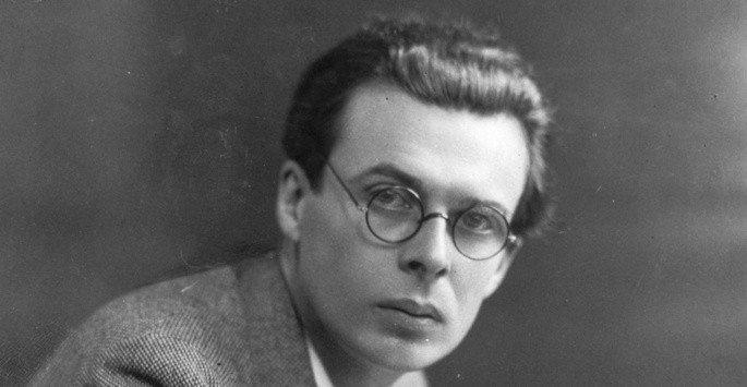 Fotografía de Aldous Huxley