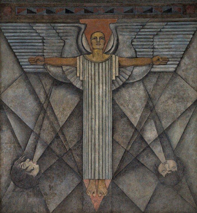 Alegoría del viento o El ángel de la paz