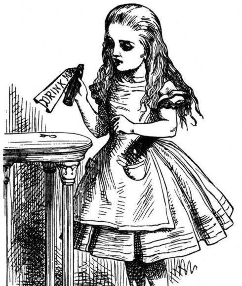 Ilustración de Alicia