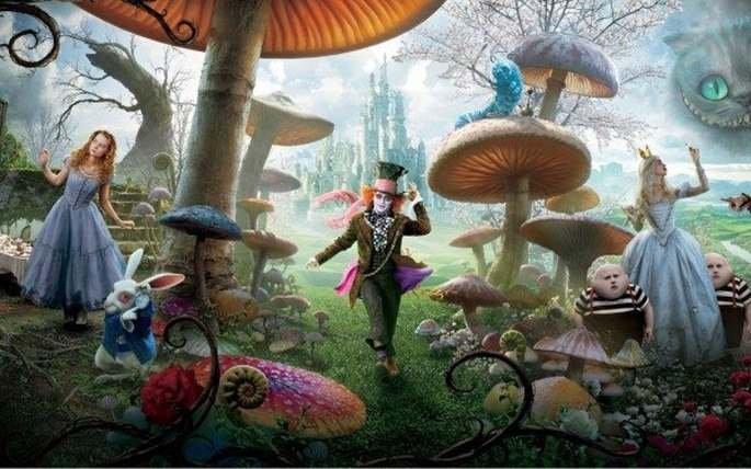 Fotograma de la película Alicia en el País de las Maravillas
