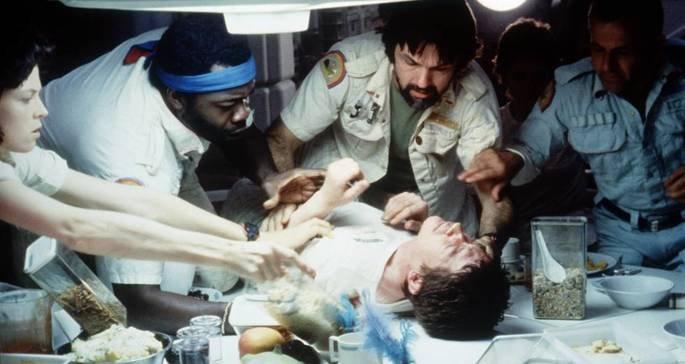 Fotograma de la película Alien el octavo pasajero