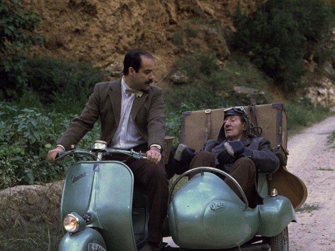 Fotograma de la película Amanece que no es poco.