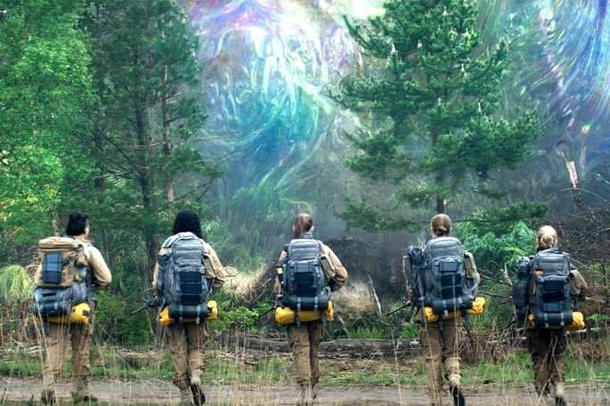 Fotograma de la película Aniquilación