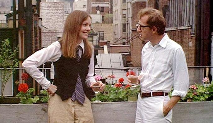 Fotograma de la película Annie Hall