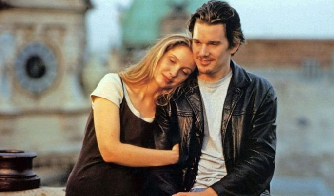 Fotograma de la película Antes del amanecer