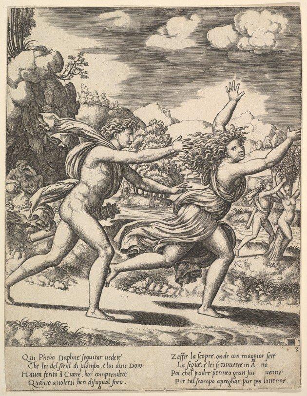 Mito Apolo y Dafne