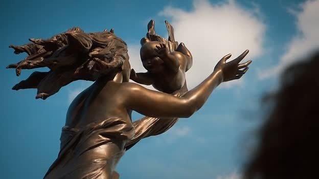Imagen del monumento a los desaparecidos The Leftovers