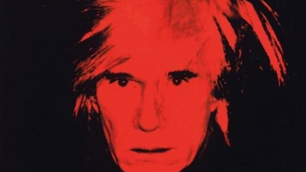 Andy Warhol Autorretrato 1986