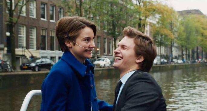 Fotograma de la película Bajo la misma estrella