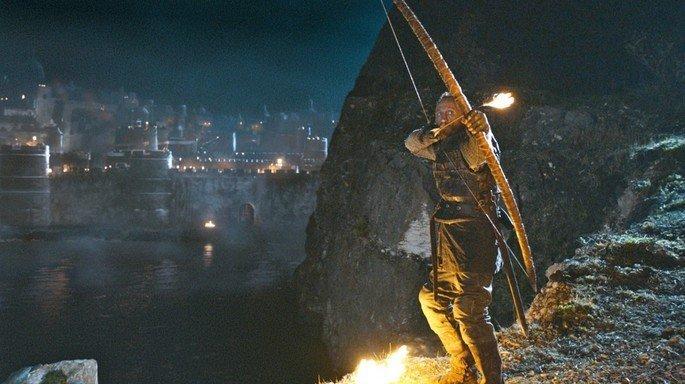 Fotograma de la batalla de Aguasnegras