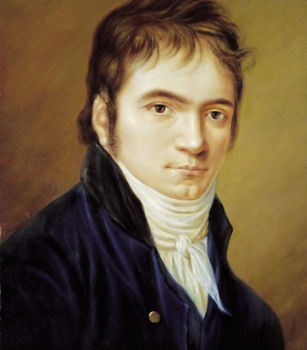 Beethoven por Christian Horneman.