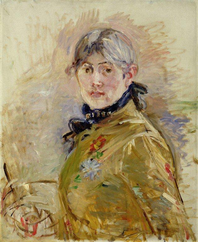 Berthe Morisot. Autorretrato. 1885.