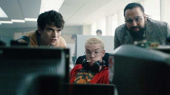Fotograma de la película Black Mirror Bandersnatch