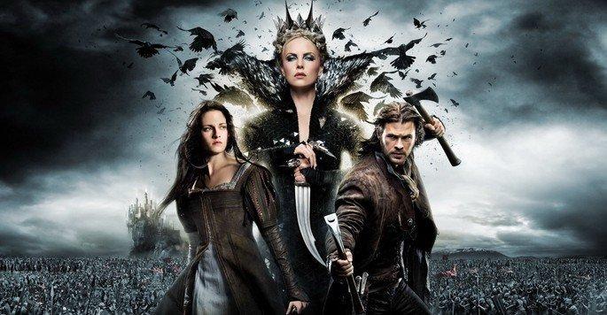 Fotograma de la película Blancanieves y la leyenda del cazador