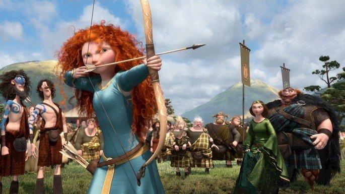 Fotograma de la película Brave