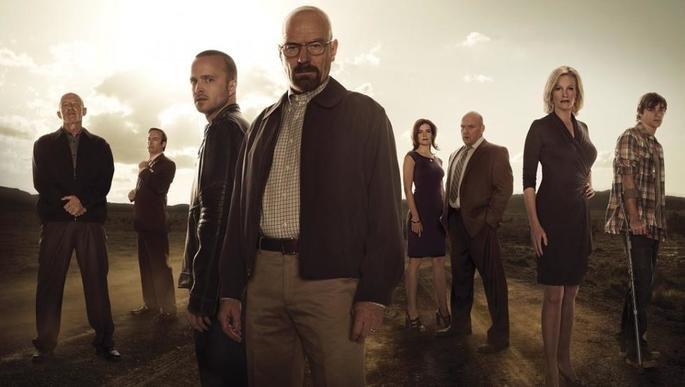Fotograma de la serie Breaking Bad