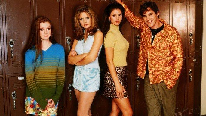 Fotograma de la serie Buffy, cazavampiros