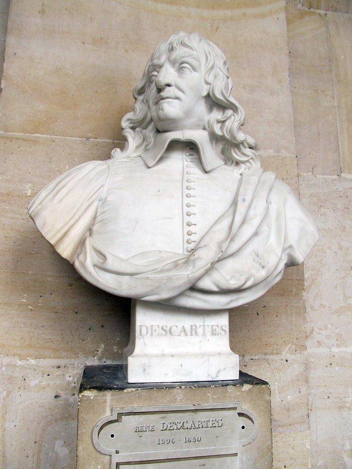 Busto de Rene Descartes