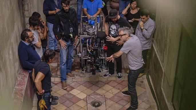 Fotograma de la película Camino a Roma