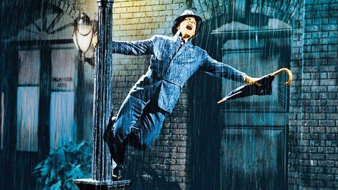Fotograma de la película Cantando bajo la lluvia