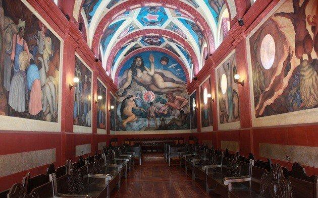 Diego Rivera: Universidad de Chapingo