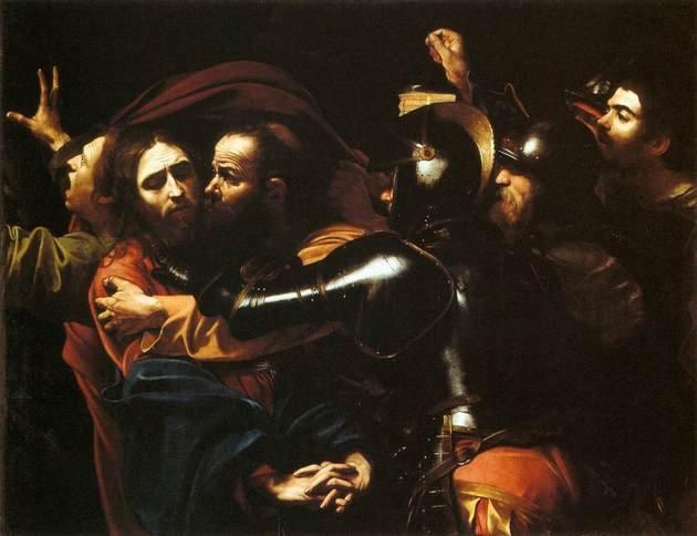 Caravaggio Prendimiento de Cristo