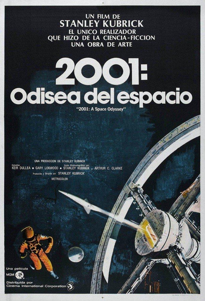Cartel Odisea del espacio
