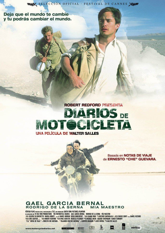 Cartel Diarios de Motocicleta