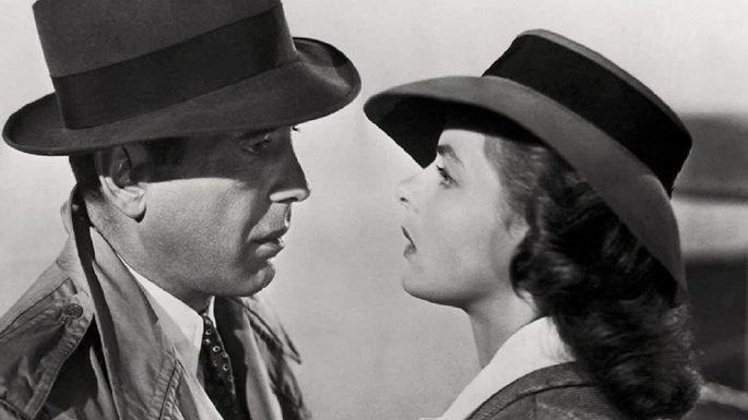 Fotograma de la película Casablanca