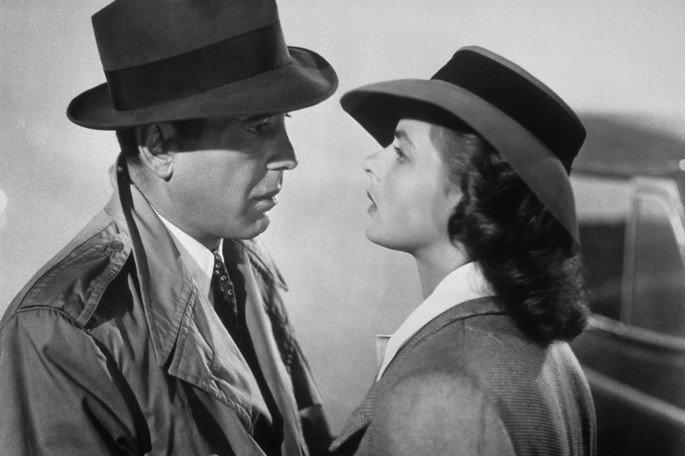 Fotograma de la pelicula Casablanca
