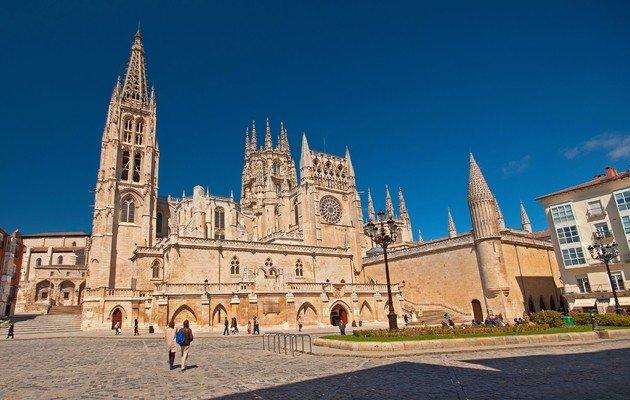 Catedral de Burgos, fachada.