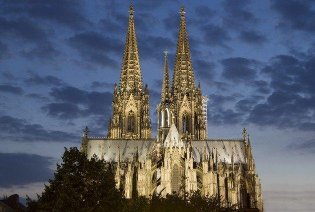 Catedral San Pedro de Colonia, fachada.