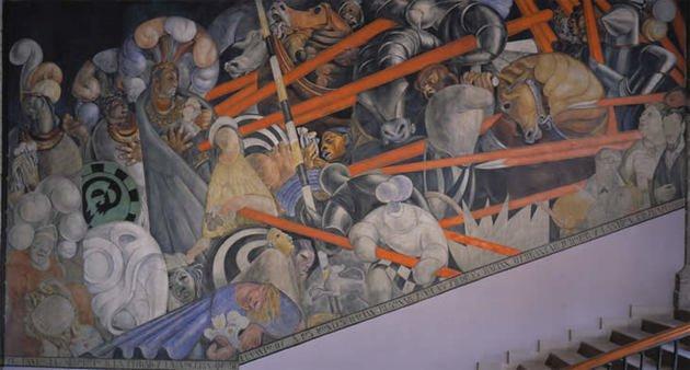 Chacrot Masacre en el Templo Mayor o La Conquista de Tenochtitlan masacre