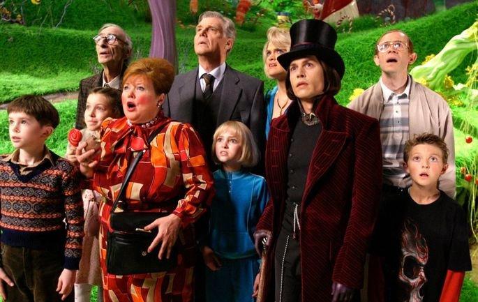 Fotograma de la película Charlie y la fábrica de chocolate