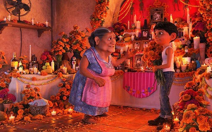 Fotograma de la película Coco