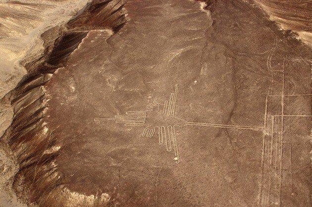 Vista del Colibrí. Nazca.