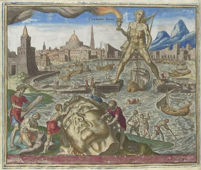 7 maravillas del mundo antiguo