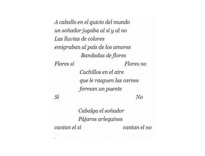 Poema Columpio de Gerardo Diego