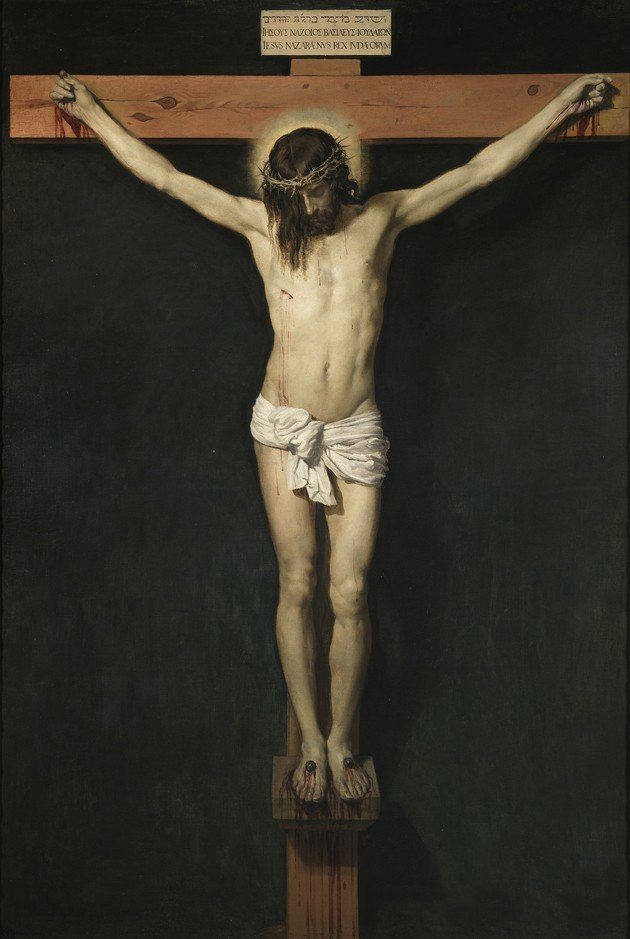 Velázquez La crucifixión