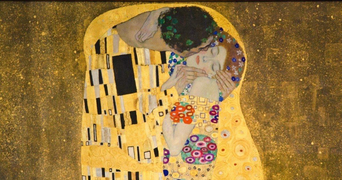 Resultado de imagen para el beso Klimt