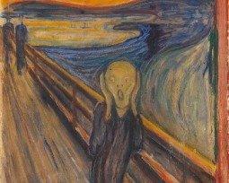 Cuadro El grito de Edvard Munch
