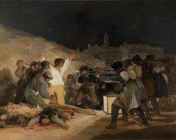 Cuadro El 3 de mayo de 1808 en Madrid de Goya